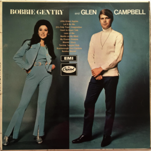 Bobbie Gentry And Glen Campbell - Bobbie Gentry And Glen Campbell (LP) (G-VG/G+)